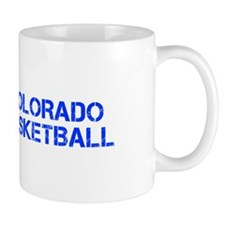 COLORADO basketball-cap blue Mugs