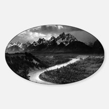 Ansel Adams The Tetons and the Snake River Decal