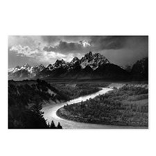 Ansel Adams The Tetons an Postcards (Package of 8)