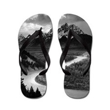 Ansel Adams The Tetons and the Snake Ri Flip Flops