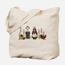 Thanksgiving Dogs Tote Bag