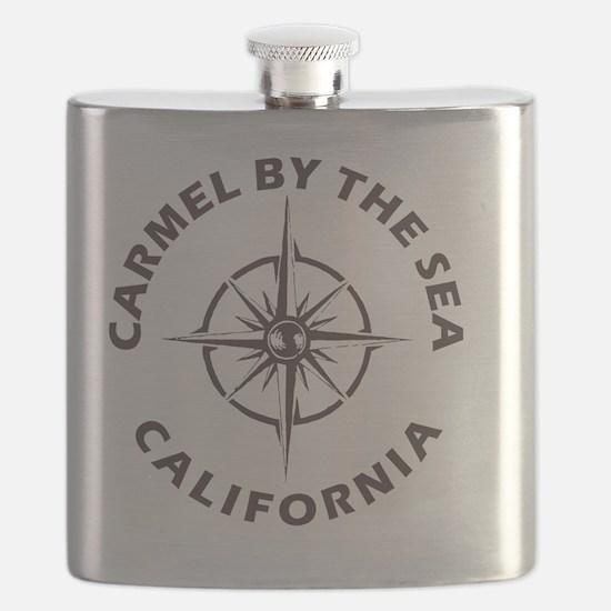 Cute Carmel beach Flask