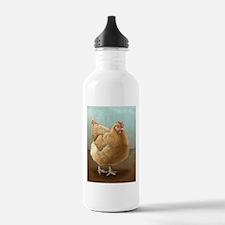 Buff Orpington Hen Water Bottle