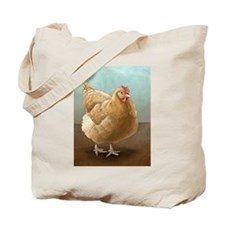 Buff Orpington Hen Tote Bag