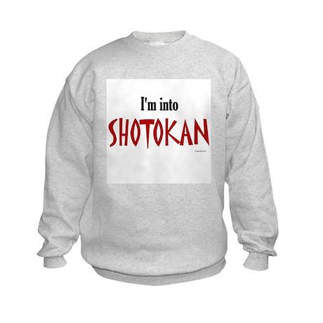 I'm Into Shotokan Kids Sweatshirt