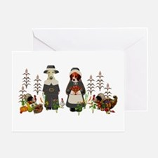 Thanksgiving Dogs Greeting Card