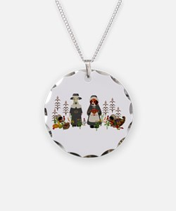 Thanksgiving Dogs Necklace