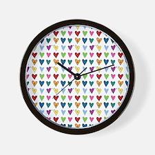 Heart Explosion Wall Clock