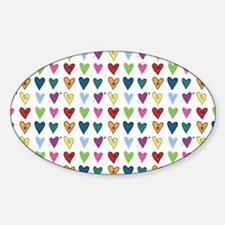 Heart Explosion Decal