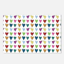 Heart Explosion Postcards (Package of 8)