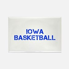 IOWA basketball-cap blue Magnets