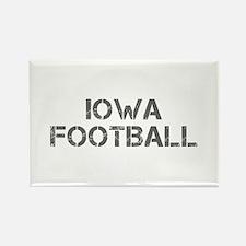 IOWA football-cap gray Magnets