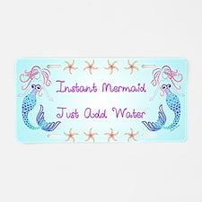 Instant Mermaid Just Add Wa Aluminum License Plate