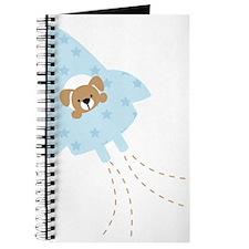 Blue Rocket Puppy Dog Journal
