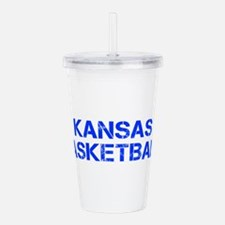 KANSAS basketball-cap blue Acrylic Double-wall Tum