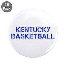 """KENTUCKY basketball-cap blue 3.5"""" Button (10 pack)"""
