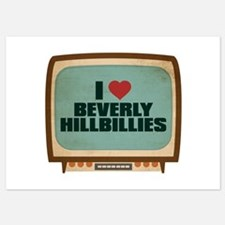 Retro I Heart Beverly Hillbillies Invitations