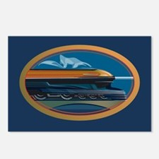 Train Art Postcards (Package of 8)