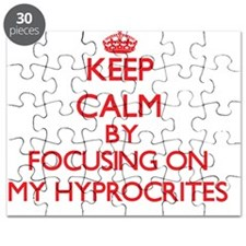 Keep Calm by focusing on My Hyprocrites Puzzle