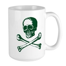 Masonic Skull and Crossbones Mug