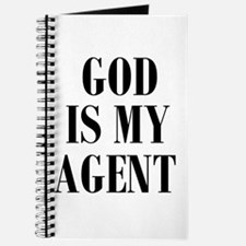 GOD IS MY AGENT Journal