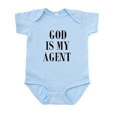 GOD IS MY AGENT Body Suit