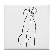 Good Dog GSP Tile Coaster