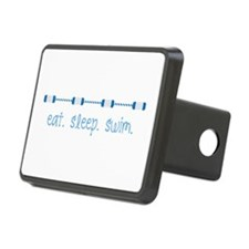 Eat Sleep Swim Hitch Cover
