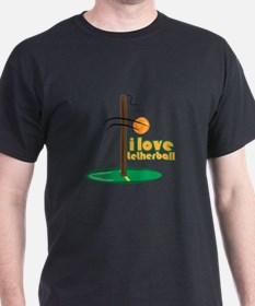 I Love Tetherball T-Shirt