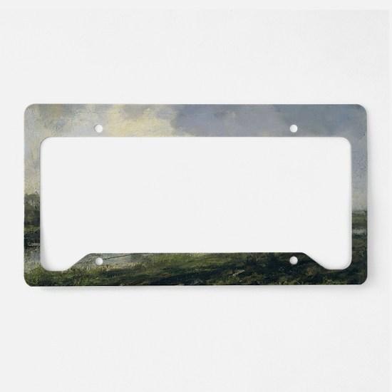 Unique Hillside License Plate Holder