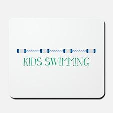 Kids Swimming Mousepad