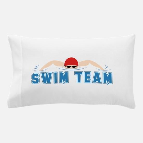 Swim Team Pillow Case