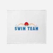 Swim Team Throw Blanket