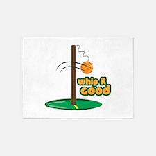 Whip It Good 5'x7'Area Rug