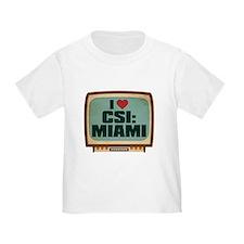 Retro I Heart CSI: Miami Infant/T