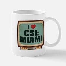 Retro I Heart CSI: Miami Mug