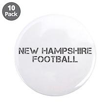 "NEW HAMPSHIRE football-cap gray 3.5"" Button (10 pa"