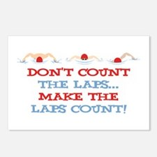 Make Laps Count Postcards (Package of 8)