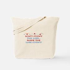 Make Laps Count Tote Bag