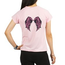 Pink Fantasy Angel Wings Performance Dry T-Shirt
