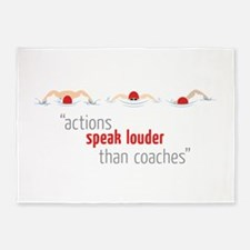 Actions Speak 5'x7'Area Rug