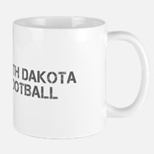 NORTH DAKOTA football-cap gray Mugs
