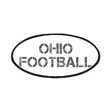 OHIO football-cap gray Patches