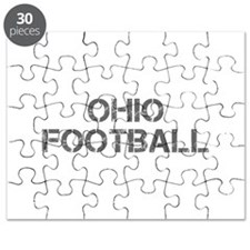 OHIO football-cap gray Puzzle