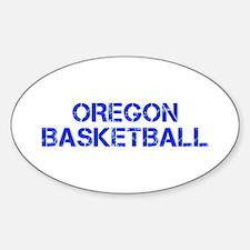 OREGON basketball-cap blue Decal
