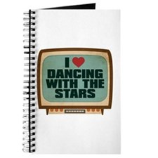 Retro I Heart Dancing With the Stars Journal