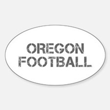 OREGON football-cap gray Decal