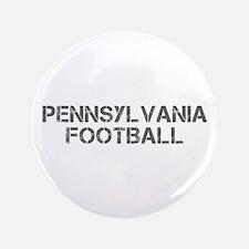 """PENNSYLVANIA football-cap gray 3.5"""" Button"""