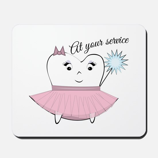 At Your Service Mousepad