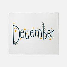 December Throw Blanket